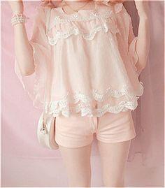 pastel vestidos kfashion moda coreana lindo kawaii rosa japonesa jfashion pastel Moda rosa cfashion chino BOBON21 moda edit: kawaii-ful