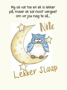 Afrikaanse Quotes, Goeie Nag, Good Night, Motivation, Words, Phone, Friends, Telephone, Amigos