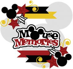 Mouse Memories SVG Collection cute svg files for scrapbooking cutting files for scrapbooking