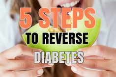 These 5 Steps Can Reverse Diabetes And Insulin Resistance #weightloss #diet #diabetes