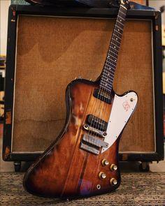 1965 Gibson Firebird III. Rare transition model.