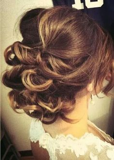 Not too neat or flat ... love this updo