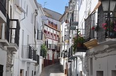Beautiful old street in Alhama de Granada