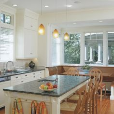 Brookline Victorian Kitchen - traditional - kitchen - boston - Jonathan R. Diamond Interiors