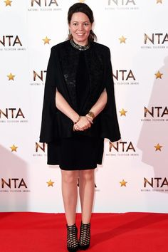 Olivia Colman in HEMYCA at the National Television Awards. Event Dresses, Classic Collection, Dress Backs, Body Shapes, Get The Look, Celebrity Style, Stylists, Women Wear, Awards