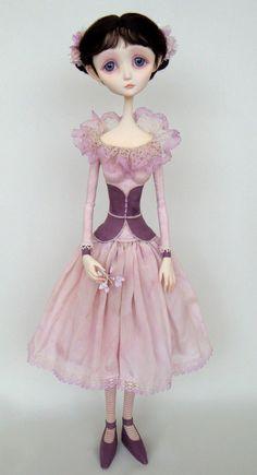 Camellia - original doll by Ana Salvador