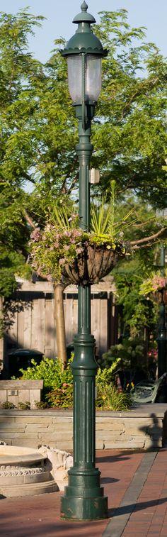 "VISCO, Inc.  ""D"" series.   Cast Iron decorative street light pole."