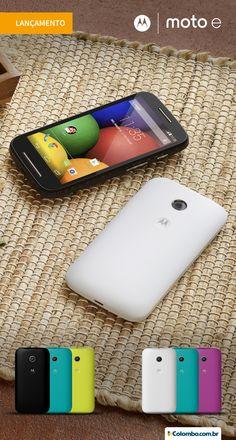O Moto E chegou para ficar. Com tantos recursos, seu diferencial também está no preço. Confira: http://www.colombo.com.br/produto/Telefonia/Smartphone-Motorola-Moto-E-DTV-Colors-Dual-Chip-Android-4-4-3G-Preto?utm_source=Pinterest&utm_medium=Post&utm_content=Smartphone-Motorola-Moto-E-DTV-Colors-Dual-Chip-Android-4-4-3G-Preto&utm_campaign=Produto-26mai14