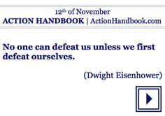 Act!  ACTION HANDBOOK [Lifetime Version]  For your every day of any year.  #ebook #quoteoftheday #wednesdaymotivation