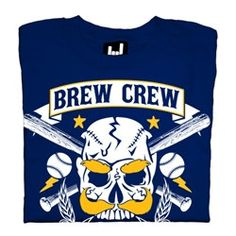 Brew City Rockers  Milwaukee Brewers Tshirt by CandleSupplyCompany, 25$