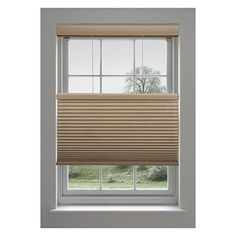 White Lotus /& Windoware 2-Inch Faux Wood Blind 17 by 60-Inch