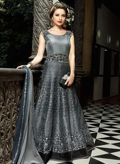 Indian Evening Gowns For Wedding Reception Gown Pinterest