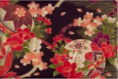Artist Unknown - Traditional Japanese Fabric