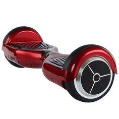 günstig E-Balance Scooter, Smart Balance Wheel Board, 6,5 Zoll, rot, Elektroscooter Roller