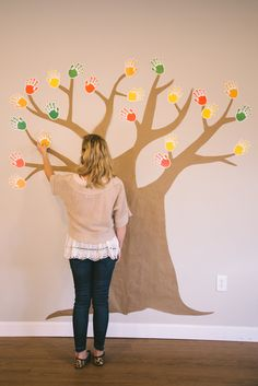 Some Ideas for you Thankful Trees - Blog post with different tree ideas by First Look graphic designer.