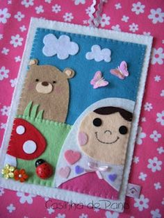 The felt crafts on this website are adorable!