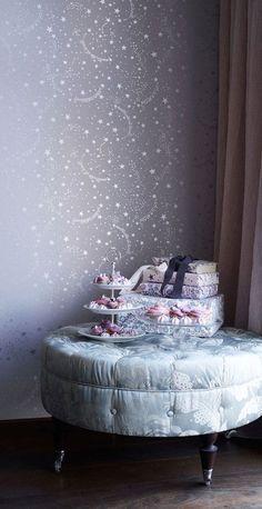 Papier peint Stars - Tapet Cafe