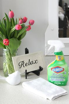 Spring cleaning tips using bleach. Bleach can be a very effective product - you just need to know when to use it and when NOT to use it!