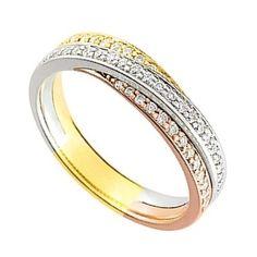 bague 3 ors, management ring, wedding band