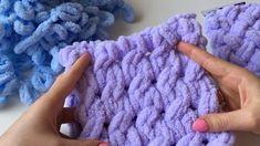 Descripción general de Alize Puffy y patrón de cuadros simple - Вязка Crochet Baby Boy Hat, Finger Crochet, Easy Crochet, Handmade Baby Blankets, Knitted Baby Blankets, Cable Knitting, Knitting Yarn, Loop Stitch Crochet, Finger Knitting Blankets