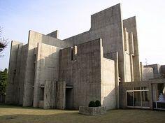 日本ルーテル神学大学(ルーテル学院大学)-村野藤吾 Japan Lutheran College-Togo Murano