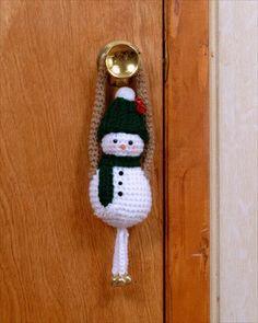 Snowman Door Greeter Amigurumi (Free Pattern)      ♪ ♪ ...   GB