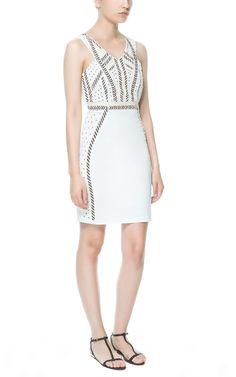 Image 1 of MOSAIC TUBE DRESS from Zara