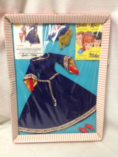 VINTAGE BARBIE LITTLE THEATER GUINEVERE OUTFIT 873 NRFB