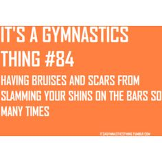 Yup! You gotta love the sport even though is hurts!