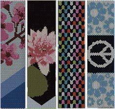 Bracciali - - Schema tessitura perline - buoni del Tesoro - Tessitura di gioielli di perline, alberi e fiori, circuiti u schemi mozichnym bracciali 5 tessuti