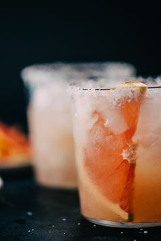 The paloma cocktail is the quintessential seasonal winter cocktail! Made with tequila and fresh grapefruit juice, it's perfectly balanced and refreshing. #paloma #tequila #cocktail #grapefruit #citrus #wintercocktail
