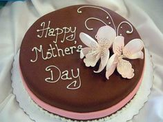Mothers Day Cake By Fizzy_candy Via Flickr Mothers Day Cakes Designs Mothers Day Cupcakes