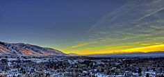 Cache Valley Sunset by James Neeley, via Flickr