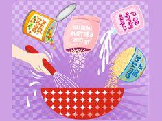 En entrée ou en plat principal, en tranches ou en petits dés, votre petit gourmand sera toujours partant pour déguster ce cake maison… surtout qu'il vous aura donné un sacré coup de main.