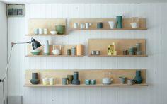 Derek Wilson Ceramics http://www.theshopkeepers.com/derek-wilson-ceramics/ Photo: Nic eames