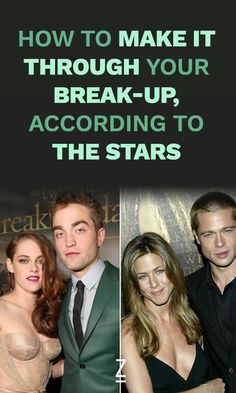 How to Make It Through Your Break-Up, According to the Stars