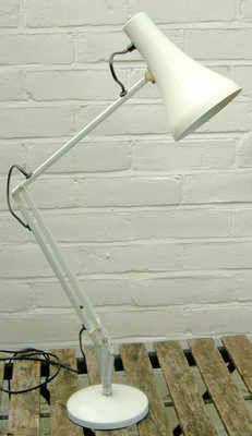 Vintage White Anglepoise Lamp Desk Lamp, Table Lamp, Anglepoise Lamp, Lamp Light, Lamps, Interiors, Lighting, Vintage, Home Decor