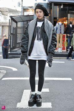 130210-2450 - Japanese street fashion in Harajuku, Tokyo