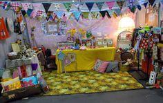 Gorgeous handmade market stall ~ New Rags Market...  www.newragsmarket.co.nz
