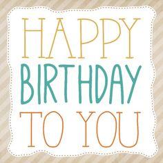 Happy birthday in frame- Greetz