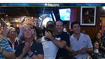Conor Dwyer's Suburban Family Watches Him Take Home Medal - http://www.nbcchicago.com/news/local/conor-dwyer-family-389610591.html
