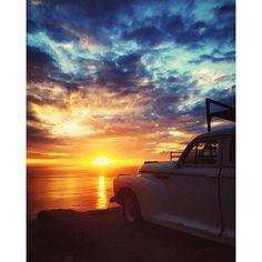 Atardeceres de oro en el Pacifico!  Esto es #Ensenada!  Aventura de Toracio