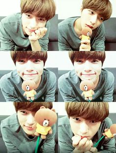 He is the cutest! #L #infinite