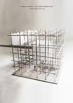 Artur Zakrzewski | Experimental Infrastructure | 120 Hours | Physical model