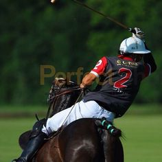Polo game in Austria Player from Hungarian polo club