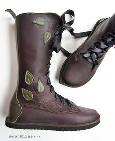 Fairysteps Shoes Handmade adult shoes, leather bags and accessories, made in England — MOONSHINE Pimpernel Fairytale Boots