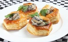 The vol au vent, as seen on The Great British Bake Off, is a typical party food. Vol Au Vent, 1970s Food, 1970s Party, Disco 70s, Fondue Party, Great British Bake Off, Weird Food, Holiday Appetizers, Vintage Recipes