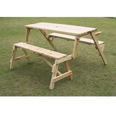 Outsunny 2 in 1 Convertible Picnic Table