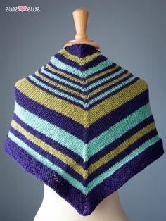 Saturday Stripes Shawl {free knitting pattern} — Ewe Ewe Yarns
