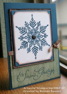 my xmas card by stamptramp72 - Cards and Paper Crafts at Splitcoaststampers